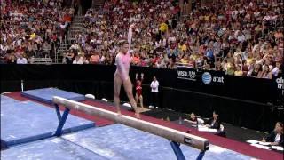 Shayla Worley - Balance Beam - 2008 Olympic Trials - Day 1