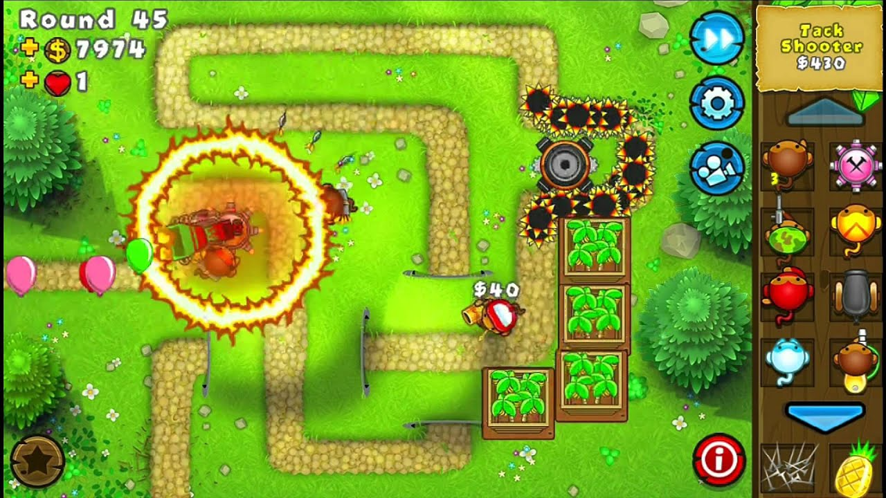 bloons monkey tower defense