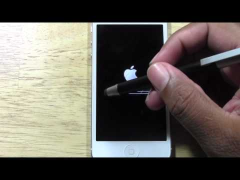 How do i return my iphone 5 to factory settings