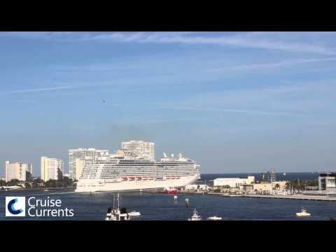 Royal Princess Sounds Her Love Boat Horn