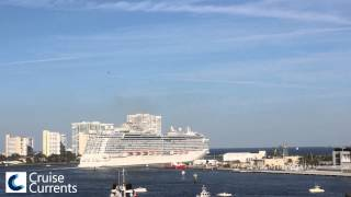 Royal Princess Sounds Her Love Boat Horn