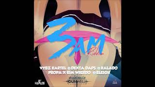 VYBZ KARTEL FT. 3AM RIDDIM MIX 2018 - DUNWELL PRODUCTIONS - ( MIXED BY DJ DALLAR COIN ) JANUARY 2018