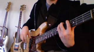 The Four Tops/James Jamerson - Bernadette (Bass playalong)