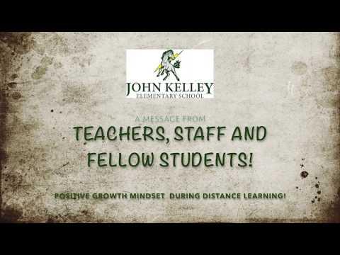 John Kelley Elementary School - PBIS Positive Message.