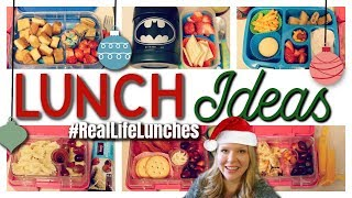 #RealLifeLunches | Picky Eater School Lunch Ideas | Week 51