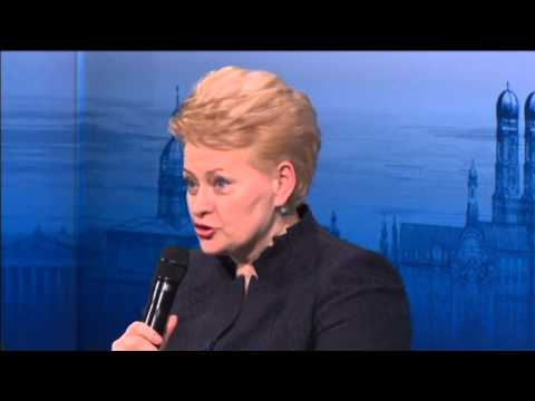 Grybauskaite Says Lithuania 'Already Under Attack': Conscription reintroduced amid Russian threat