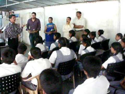 Feel and Share Trust Introduction to SSC Students of S. V. School Chembur