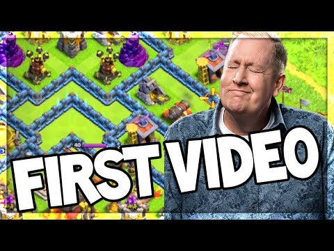 REACTING to my FIRST Ever Clash of Clans Video! And YouTuber TIPS!