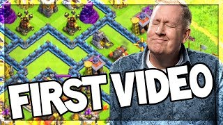 REACTING to my FIRST Ever Clash of Clans Video!...