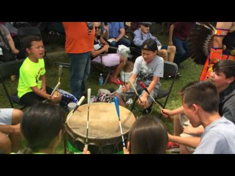 Hay Creek at L.C.O Honor the Earth pow wow 2017