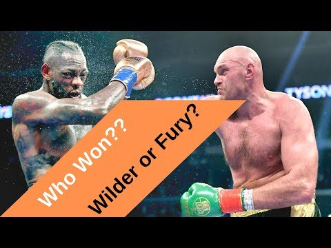 Did Deontay Wilder or Tyson Fury win? Mayweather Boxing Club decides