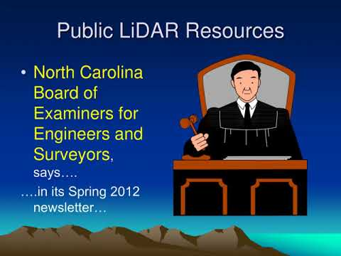 LiDAR Applications in Surveying and Engineering