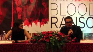 Blood Ransom Press Conference with Anne Curtis and Alexander Dreymon