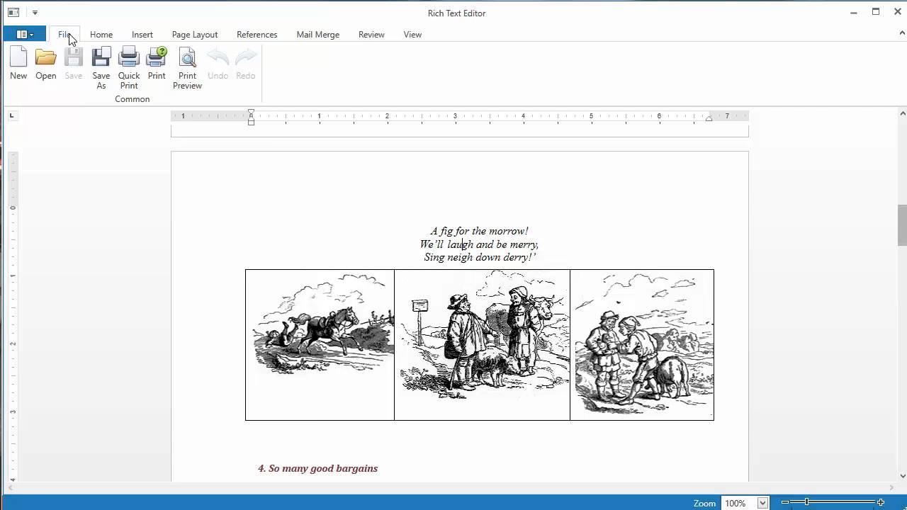 Rich Text Editor | WPF General | WPF Controls | DevExpress Help