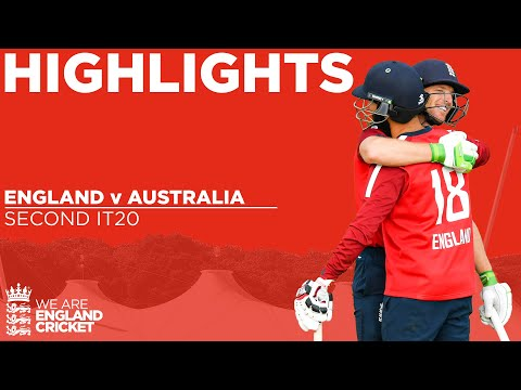 England v Australia - Highlights | Buttler Hits 77 To Seal S