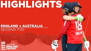 England v Australia - Highlights | Buttler Hits 77 To Seal Series Win | 2nd Vitality IT20 2020