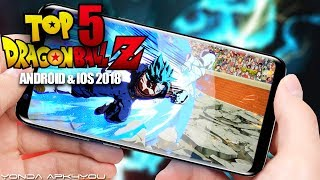Top 5 Dragon Ball Z Games May 2018 - Android IOS Gameplay