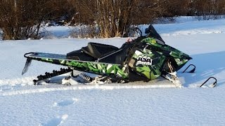 Frankensled Nypro Custom Snowmobile build part 1