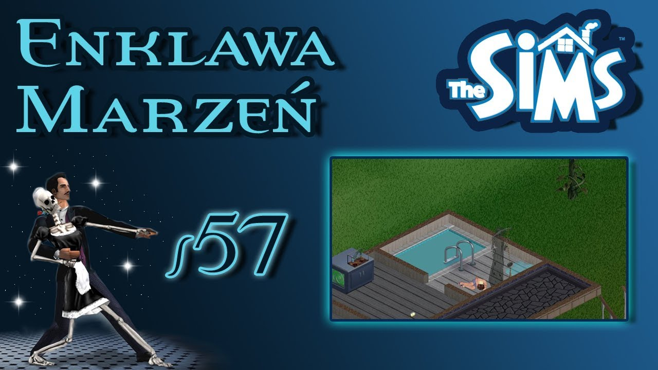 """Enklawa Marzeń odc. 57 – The Sims 1 – """"Suchy chleb dla konia"""""""