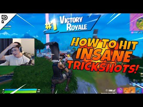 HOW TO HIT AN INSANE FORTNITE TRICKSHOT! (Road to a Trickshot)