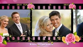 Free download Project Proshow Producer Wedding - Film Blooms Rose Styles