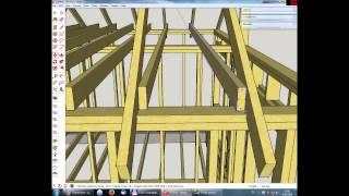 Урок 8  Проектирование дома в SketchUp
