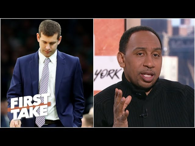 Stephen A. Smith didnt expect roller-coaster season from Celtics & Brad Stevens   First Take