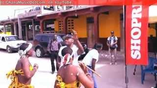 DJ Mensa - Dancing 'Adowa' at Royal Seed Orphanage | GhanaMusic.com Video