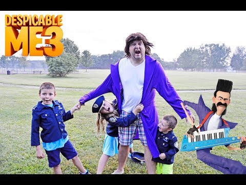 Universal Despicable Me 3 with Bratt featuring Assistant The Engineering Family silly funny kids