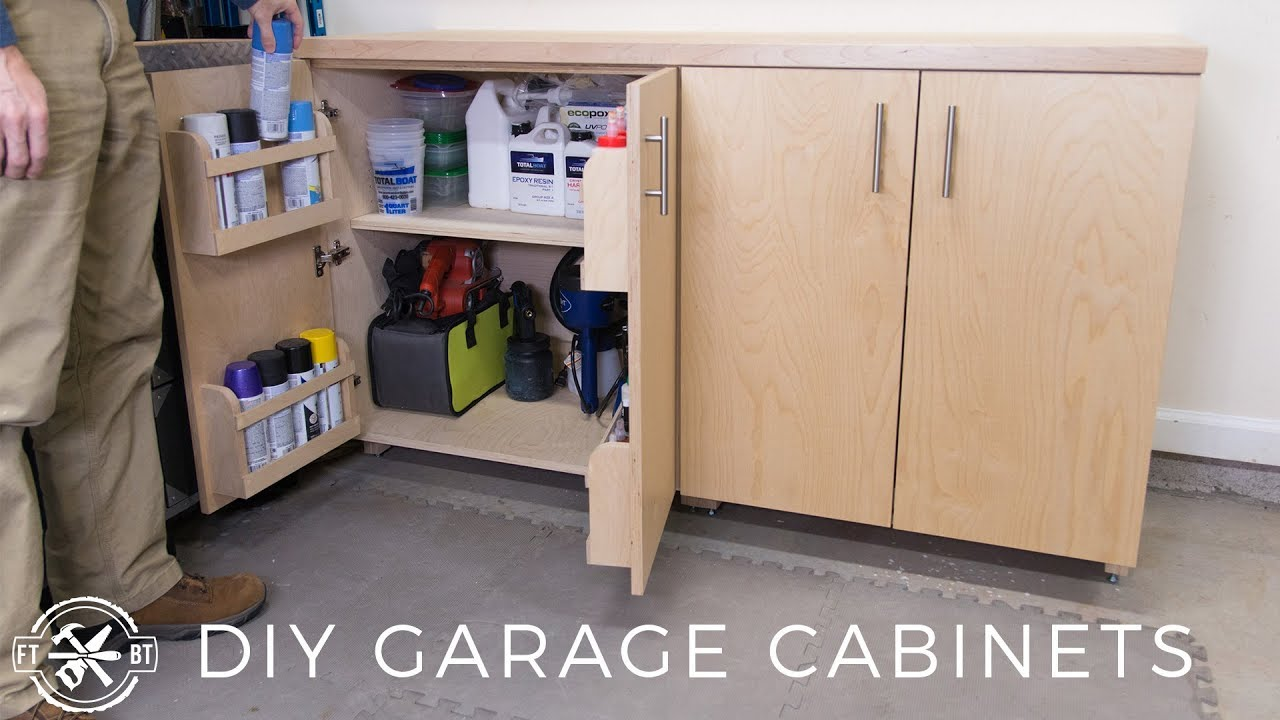 Diy Garage Cabinets For Shop Organization Youtube