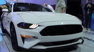 New 2018 Ford Mustang  GT | Close Walkthrough | Detroit Autoshow 2017