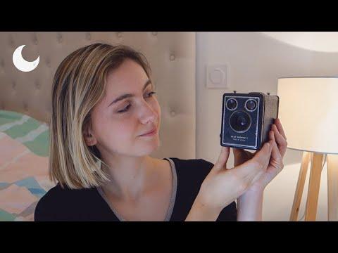 ASMR - Show and Tell - Antique family film cameras 📷