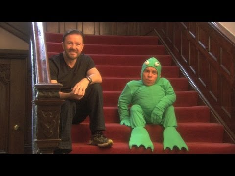 Ricky And Warwick The Frog - Life's Too Short - BBC Two