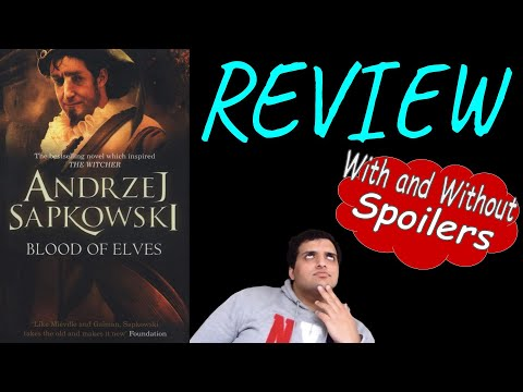 Blood of Elves BOOK REVIEW | The Witcher #1 | Andrzej Sapkowski