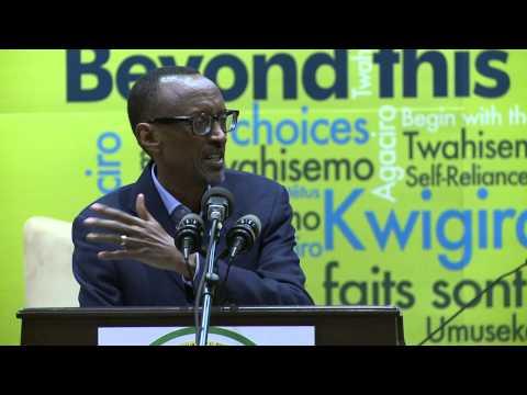 President Kagame speaks at Imbuto Foundation Youth Forum- Kigali, 14 Dec 2014 (part 2/2)