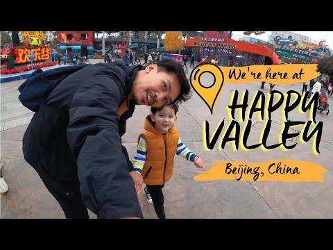 AMUSEMENT PARK in Beijing this 2020?? Is it SAFE?! 😷  Happy Valley Beijing 🎢🎡