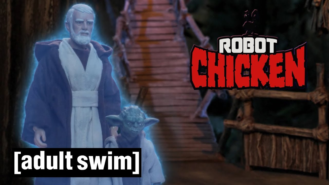 The Top 3 Jedi Moments | Robot Chicken Star Wars | Adult Swim