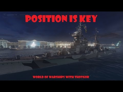 World of Warships- Position is Key