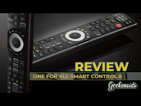 One For All Smart Control 8 Remote Control Review