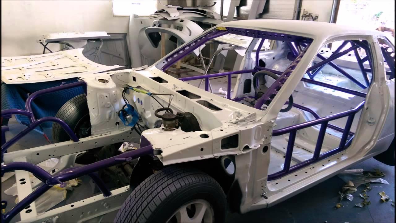 Nissan 240sx Drift Car Painted Youtube