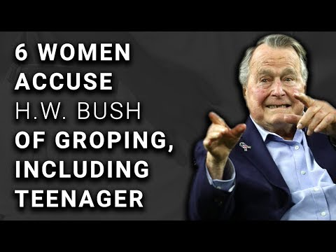 16-Year-Old Now SIXTH Woman Accusing George H W Bush of Groping