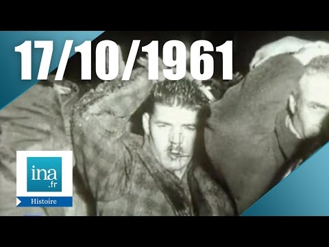 17 octobre 1961: massacre d'Algériens à Paris | Archive INA