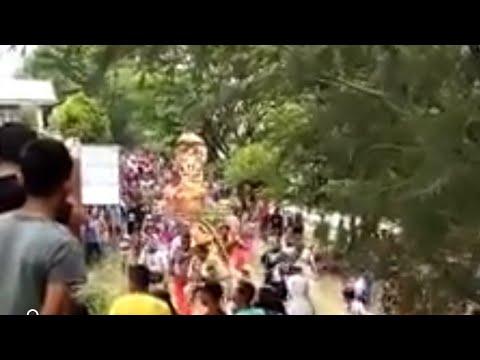 Heboh... Perayaan ritual ulang tahun dewa di Banda Aceh oleh agama hindu tamil India