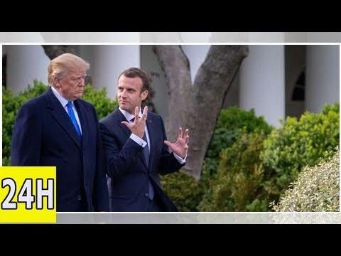 Pour la presse américaine, Macron «prend le risque de courtiser Trump»