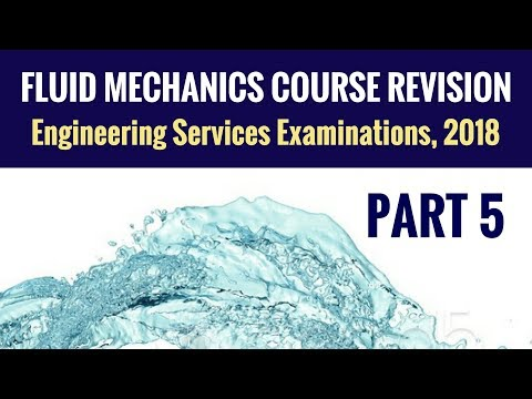 Fluid Mechanics Revision - UPSC ESE - Part 5 - Engineering Services Examination (ESE)