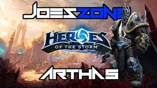 Heroes Of The Storm Arthas - Hail to the King, Baby! (Game Play With Commentary)
