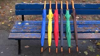 видео зонты с логотипом