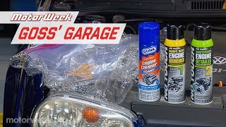 Pat Goss Shows How to Clean an Engine | Goss' Garage