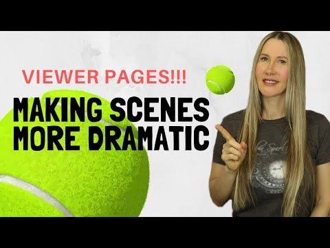 Screenwriting Hacks For Drama -- Writing Movie Scenes