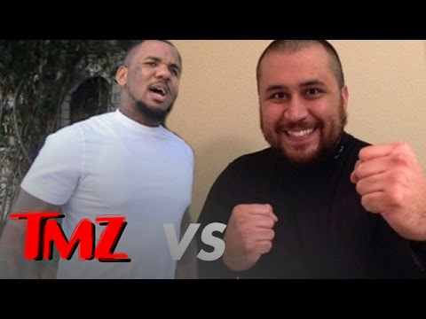 "The Game Vows to ""Beat the F**k"" Out of George Zimmerman"